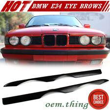 Unpainted For BMW 5-Series E34 Sedan Wagon 525i Front Eyelids Eyebrow Cover 1996