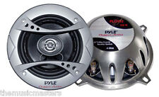"Pair 5 1/4"" inch 5.25"" Premium 2-Way Coax Car Radio Stereo Sound Audio Speakers"