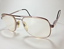 Luxottica Carlos Taupe Prescription Eyeglasses 54-18-135 Italy