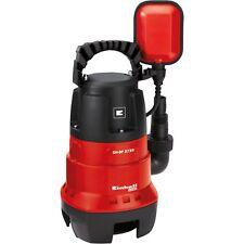 Einhell Schmutzwasserpumpe GC-DP 3730, Tauch- / Druckpumpe, rot