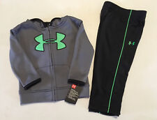 NWT Under Armour Boys Youth Hoodie Jacket & Pants Sweat Suit Infant Toddler Baby