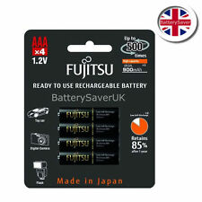Fujitsu PRO AAA Black 950mAh High Capacity NiMH rechargeable battery (4 pack)