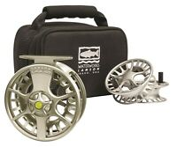 Lamson Liquid 7+ Fly Reel - 3-Pack Color Vapor - NEW