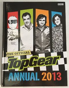 Top Gear Official Annual 2013 BBC Licensed Hardback Book - New / Unread