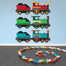 Train Steam Engine Wall Sticker Set WS-47138