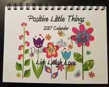 2017 Calendar Desktop Desk Wall Positive Quotes and pictures