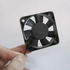 Brushless 2 Pin Cooler CPU Case Black Silent Computer Fan Cooling DC 12V