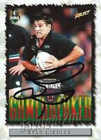 ✺Signed✺ 2000 PENRITH PANTHERS NRL Card RYAN GIRDLER