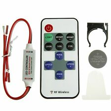 Mini RF LED Remote Controller Wireless Dimmer for 3528 5050 Strip Single Color