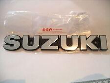 Genuine Suzuki Silver Tank Badge GS400 GS550 GS750 GS 400 550 750 GSX400ET