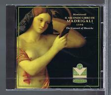 MONTEVERDI CD NEW 2EME LIVRE DE MADRIGAUX  THE CONSORT OF MUSICKE / EMMA KIRBY