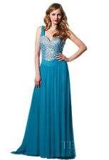 Terani P1504 Peacock Size 8 Special Occasion-Prom-Homecoming-Military Ball