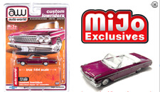 Auto World Chevy Impala Ss Convertible Plum 1962 Custom Lowriders Cp7663 1/64