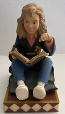 2000 Harry Potter Hermione Granger Book End Statue Figurine ~ Read Description
