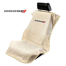 Seat Armour SA100NDODT Tan Seat Protector Towel Cover With New Dodge Logo