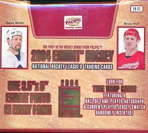 2003/04 PACIFIC EXHIBIT HOBBY HOCKEY SEALED BOX