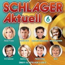 SCHLAGER AKTUELL 6 - 2 CD NEW+ - BEATRICE EGLI, HELENE FISCHER, HOWARD CARPENDAL