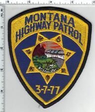 Montana Highway Patrol Uniform Take-Off Shoulder Patch