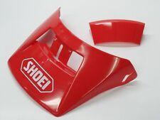 NOS Vintage Shoei V-110 Red Helmet Visor Motorcycle Motocross AHRMA