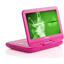 Bush 10 Inch Portable DVD Player - Pink in original box with all accessories.