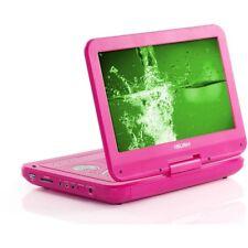 Bush 10 pulgadas reproductor portátil de DVD-Rosa en Caja Original con todos los accesorios.