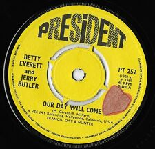 """Northern Soul 45 Betty Everett & Jerry Butler """"Our Day Will Come"""" President mp3"""