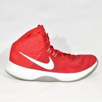 Nike Air Precision University Red 898455-600 Mens Sneakers Sz 8.5 EUC Basketball