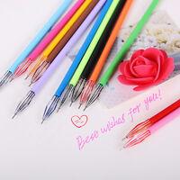 Personalized 12pcs Cute Diamond Head Gel Pen Refill 0.38mm Ink Useful Stationery