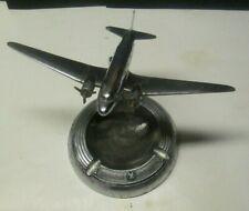 Vintage 1930's/40's American Airlines DC3 ? Desktop Model Airplane Ashtray NR