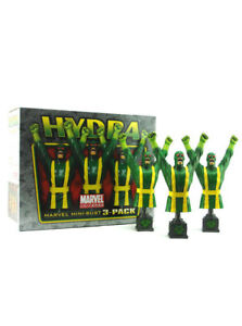 Bowen Designs Hydra Agent 3-Pack Mini Bust Set Captain America New