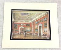 1983 Vintage Stampa The Russo Galleria Inverno Palazzo Russia Romanov Royal