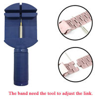Wrist Bracelet Watch Band Link Slit Strap Remover Adjuster Pins Repair Tools