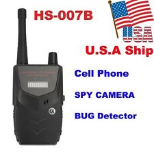 USA Ship HS-007B Wireless Camera Cell Phone RF Signal Bug Spy Detector Finder