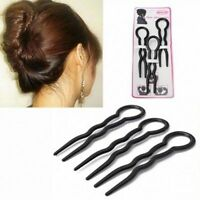 Lady Styling Invisible Hair Fork Hair Fork Hair Clips Hair Pin U Shape Fork Tool