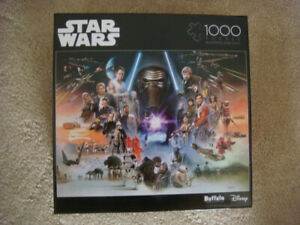 BRAND NEW STAR WARS Puzzle - If Skywalker Returns The New Jedi Will Rise 1,000