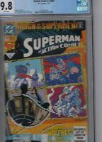 DC COMICS - Superman In Action Comics  #689  July  1993 CGC 9.8.