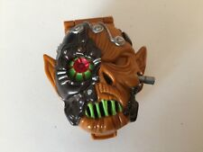 MIGHTY MAX 1992 BLUEBIRD Battles SKULL WARRIOR horror heads