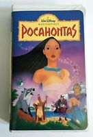 (1996) VHS Walt Disney *MASTERPIECE COLLECTION* POCAHONTAS #5741 *RARE*