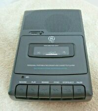 GE 3-5027A Personal Portable Recorder And Cassette Player Built In Microphone