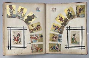 Album + de 700 Chromos dont 400 Découpis 24 grands Formats / Belles Compositions