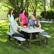 Lifetime 6 ft. Folding Picnic Table, Folds For Easy Storage, Coated Frame NO TAX
