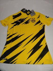 20/21 PUMA Borussia Dortmund BVB Replica Home Jersey Womens Size Small 757170-01