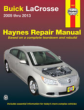 2005-2013 Buick LaCrosse Haynes Repair Service Shop Workshop Manual Book 21170