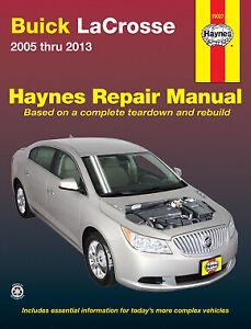 Buick Haynes Car Truck Service Repair Manuals For Sale Ebay