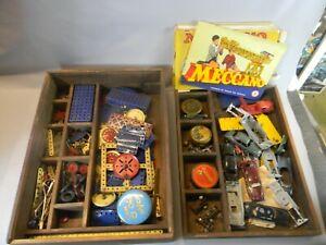 BOITE de MECCANO jeu construction pour enfants jouets mecanique miniature  E