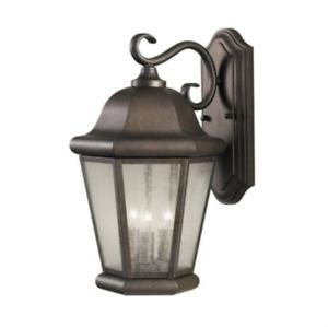 Sea Gull Lighting-OL5902CB-Martinsville - Three Light Outdoor Wall Lantern