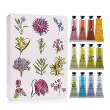 Crabtree & Evelyn Hand Therapy Tin Gift Set of 12 25g Handcreams, Value $70