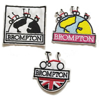 Clothing Patch BROMPTON bike design Bag Shirt Badge