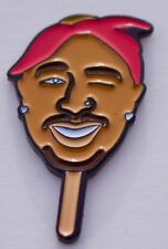 THUG LIFE LAPEL PIN -DATA - 2 PAC - CLASSIC HIP HOP - ICE CREAM PIN