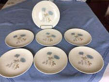 More details for wedgewood ice rose plates x7